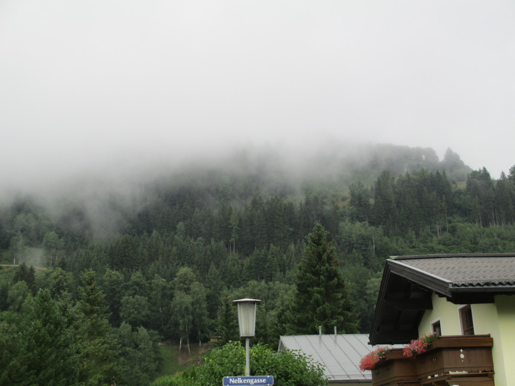 Le nuvole in Zell am See...