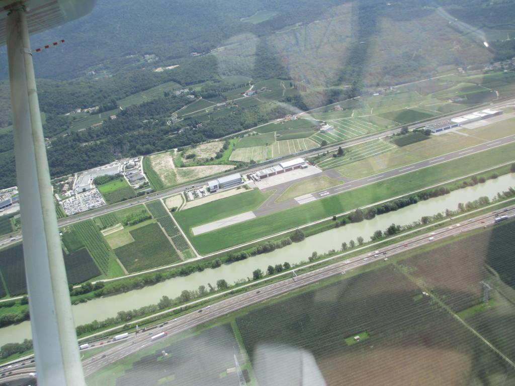 L'aeroporto Caproni di Trento