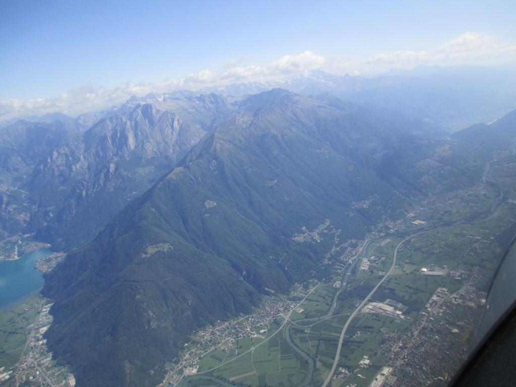 Le valli, poco dopo Colico