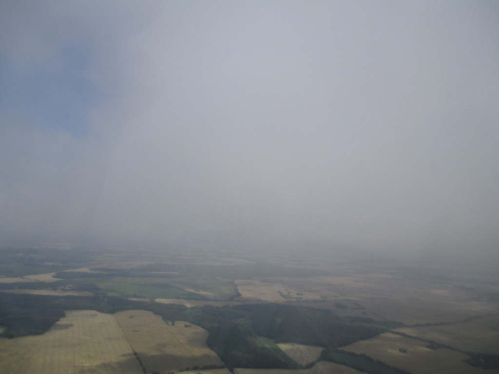Die Wolken über Strausberg