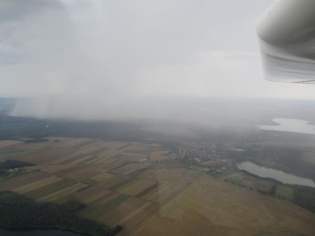 Das Regen vor Zielona Gòra