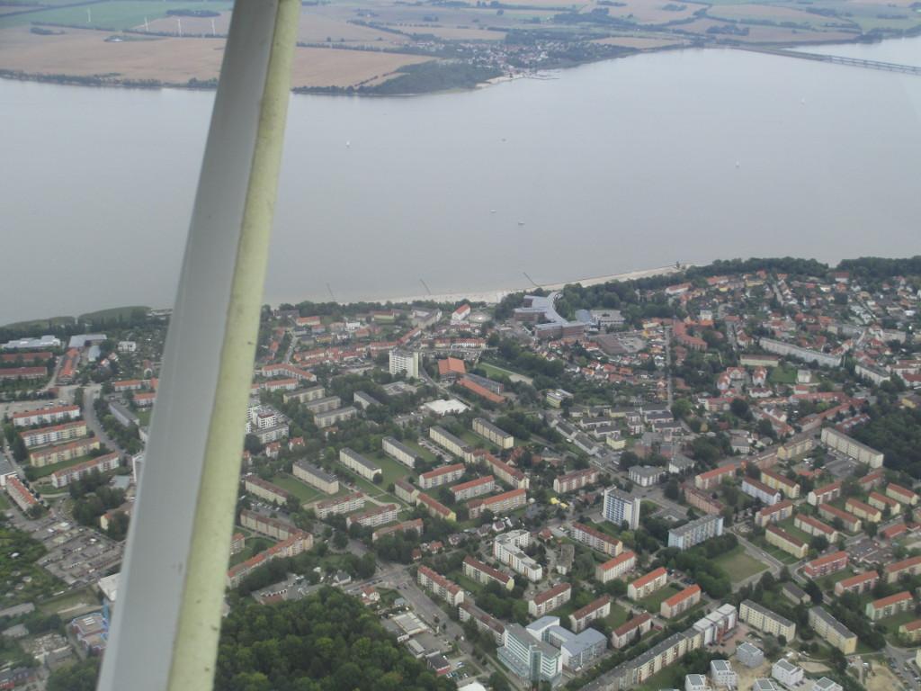 Ostsee von oben...