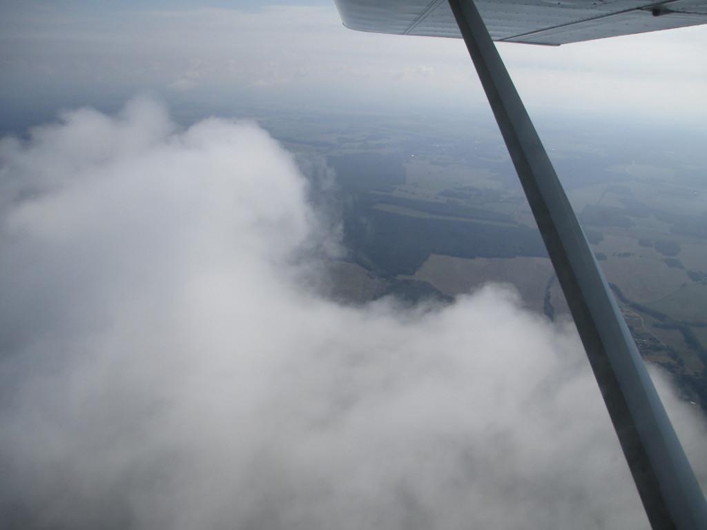 Tiefe Wolken nach Berlin...